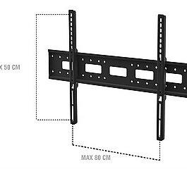 מתקן תלייה צמוד קיר למסכים דקים SONOROUS SUREFIX240