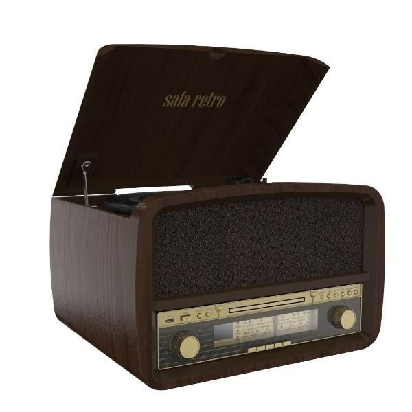 פטיפון משולב מערכת שמע רטרו SAFA ספה דגם CA1423